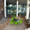 UQ Therapies courtyard constrcuted