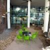 UQ Therapies courtyard constrcuted