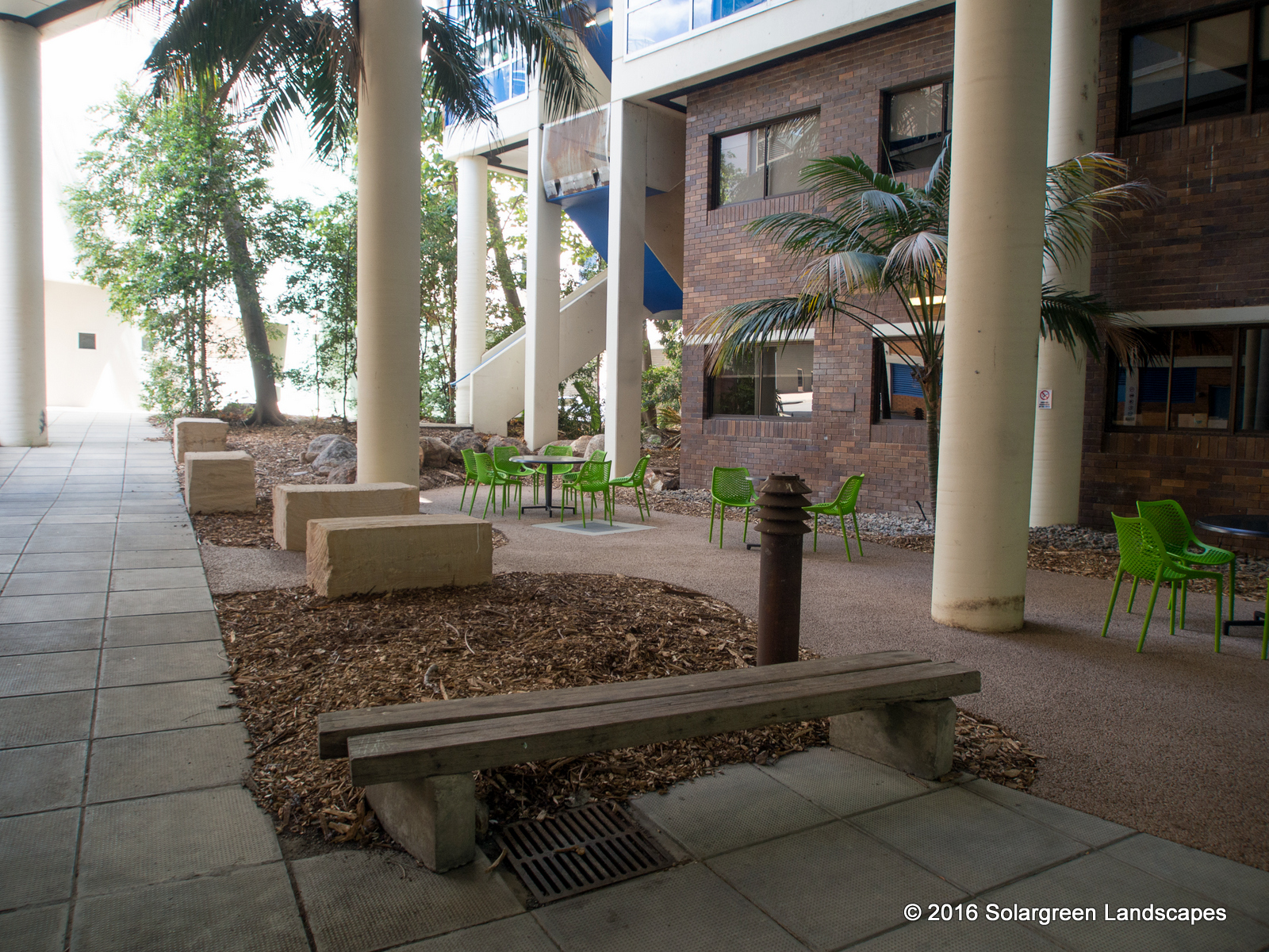 The Courtyard Before Design